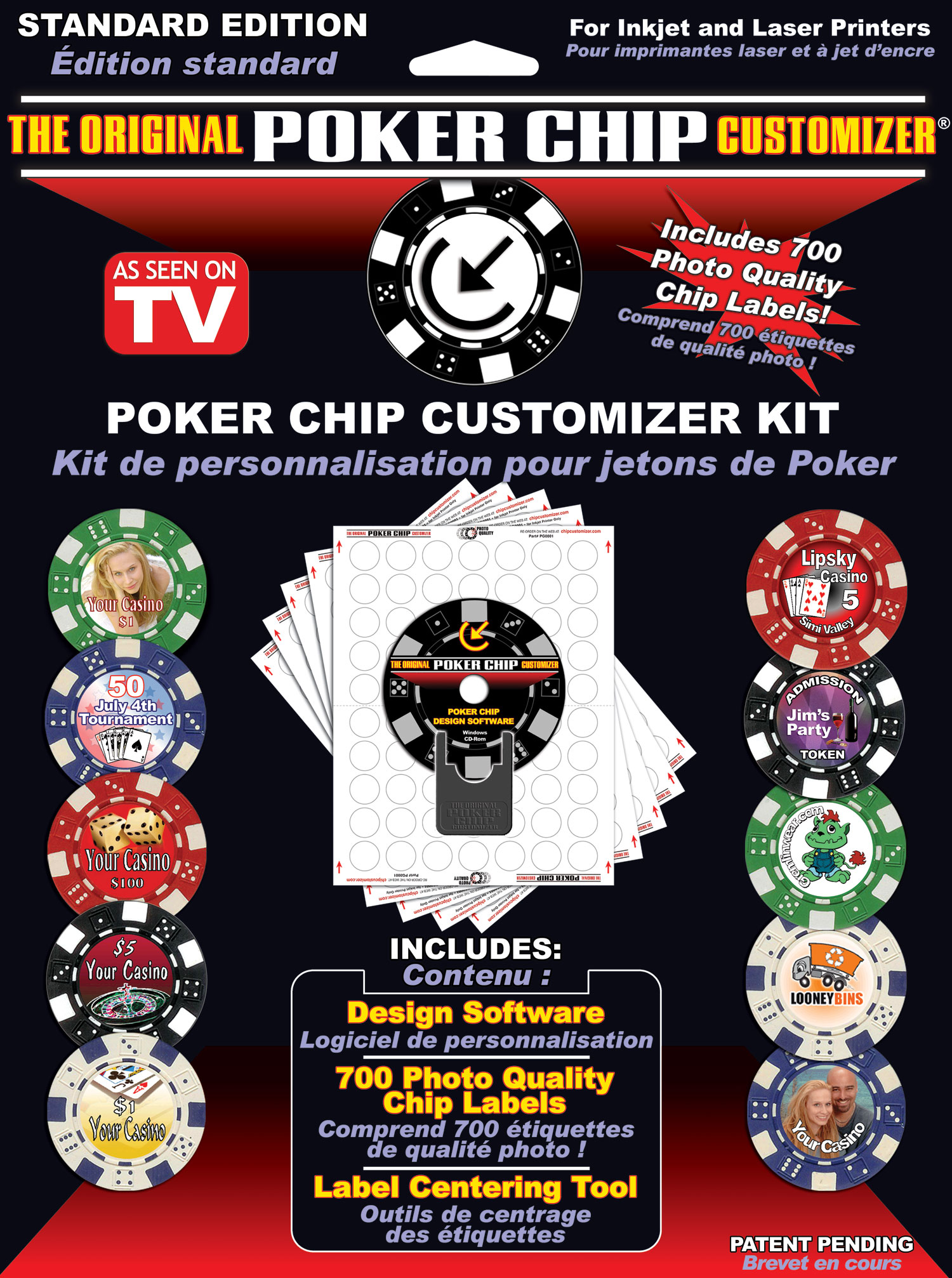 Poker Chip Customizer