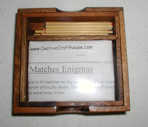 Matches Enigma -- Matchstick Puzzles