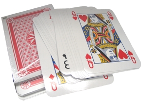 SUPER Jumbo Playing Cards 12 X 15 IN.