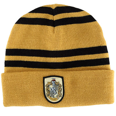 Harry Potter Hufflepuff Knit Hat (Beanie)