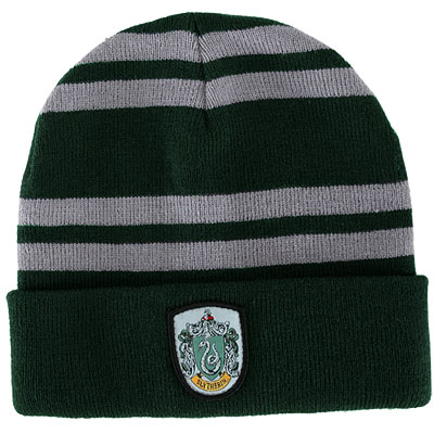Harry Potter Slytherin Knit Hat (Beanie)