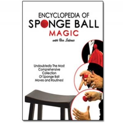 Encyclopedia of Sponge Ball Magic DVD w/Set of 4 Sponge Balls