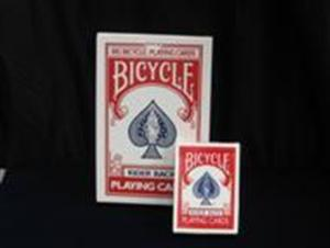 Bicycle Jumbo Cards -- Red