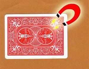 Bicycle Shimmed Card -- Red