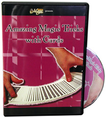 Amazing Magic With Cards - DVD