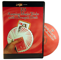 25 Amazing Magic Tricks with a Svengali Deck DVD