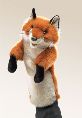 Fox Stage Puppet