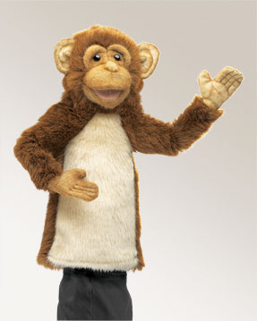 Monkey Stage Puppet