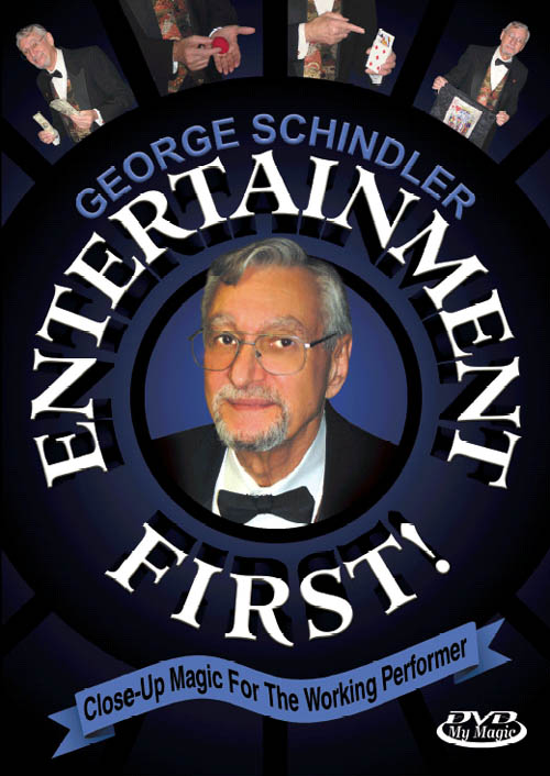 Entertainment First! -- DVD by George Schindler