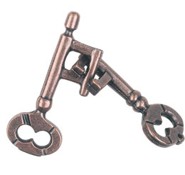 Hanayama Key -- Cast Metal Puzzle