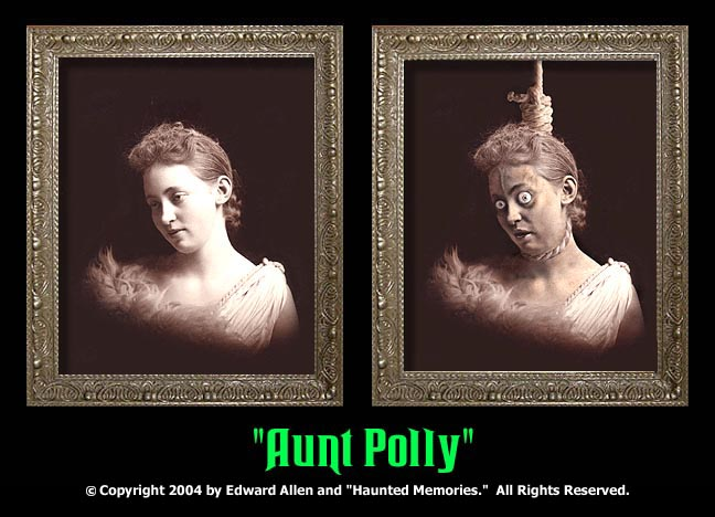 "Aunt Polly - ""Haunted Memories"" Portrait 5""x7"" - Click Image to Close"