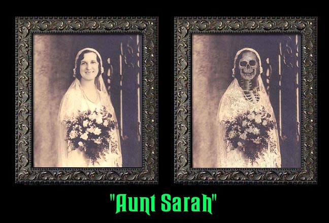 "Aunt Sarah - ""Haunted Memories"" Portrait 5""x7"""