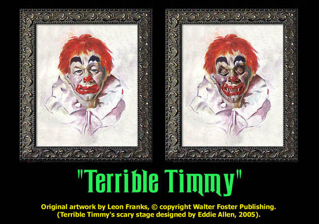 "Terrible Timmy - ""Haunted Memories"" Portrait 8""x10"""