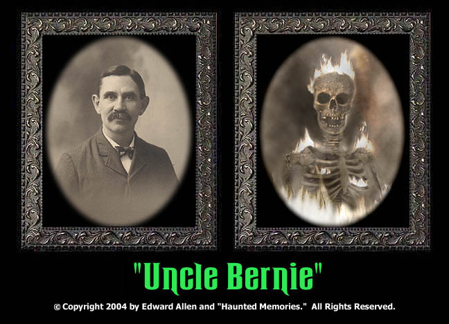 "Uncle Bernie - ""Haunted Memories"" Portrait 5""x7"""