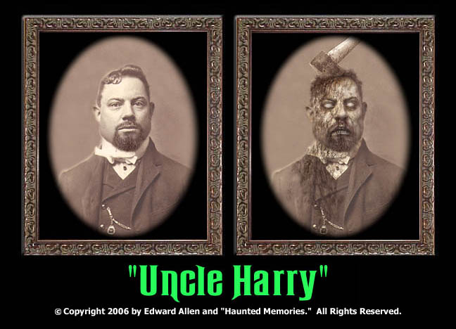 "Uncle Harry - ""Haunted Memories"" Portrait 8""x10"""