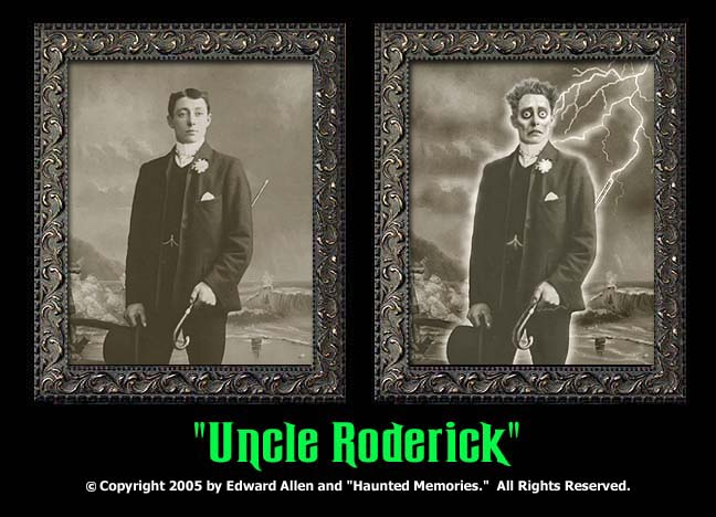"Unce Roderick - ""Haunted Memories"" Portrait 5""x7"""