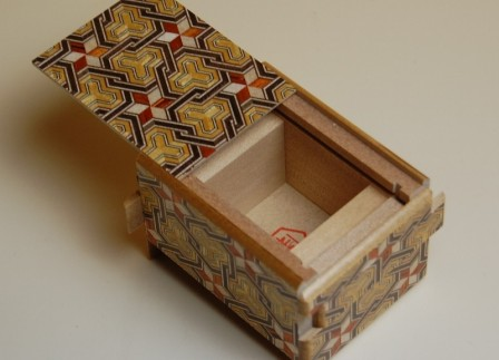 2.7 Sun 12 Step Karami Japanese Puzzle Box