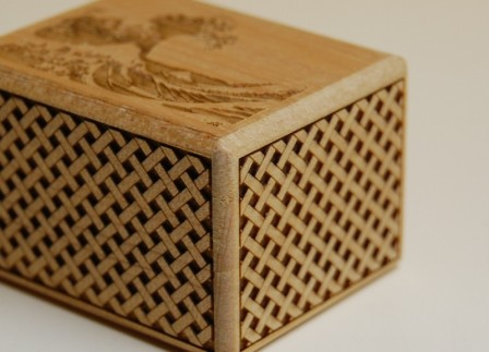 2 Sun 7 Step Namiura Japanese Puzzle Box