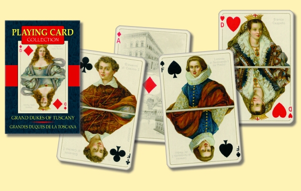 Grand Dukes of Tuscany Playing Cards