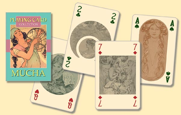 Mucha Playing Cards