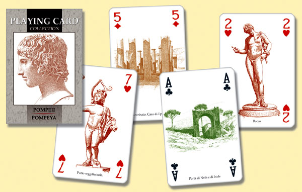 Pompeii Playing Cards