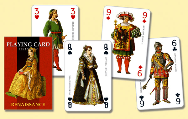 Renassaince Playing Cards