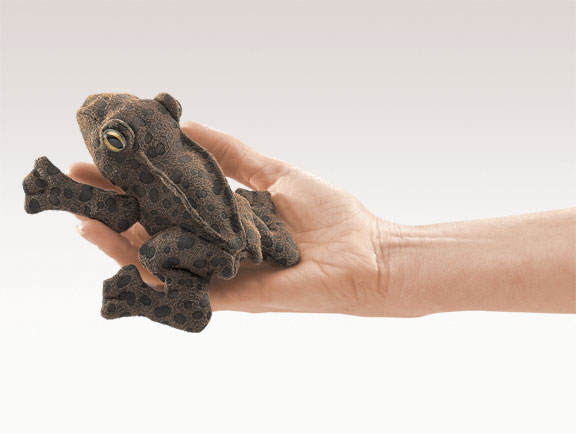 Mini Toad Finger Puppet