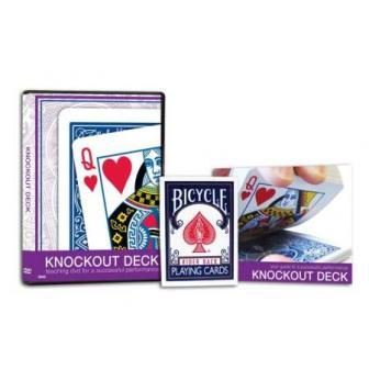 Bicycle Knockout Deck w/Teaching DVD