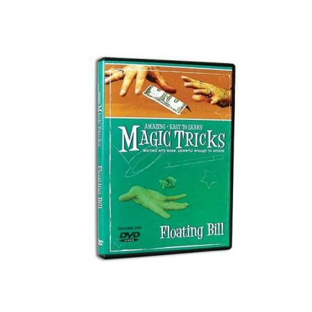 Amazing Easy To Learn Magic Tricks -- Floating Bill DVD