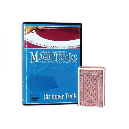 Amazing Easy To Learn Magic Tricks -- Stripper Deck Combo