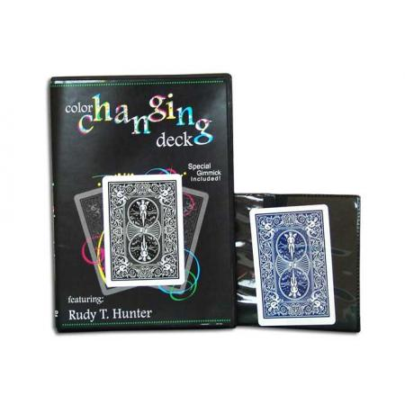 Color Changing Deck + Medium Size Black Close-up Pad