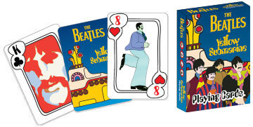 Beatles Yellow Submarine Poker Deck