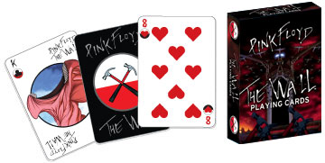 The Wall -- Pink Floyd Poker Deck