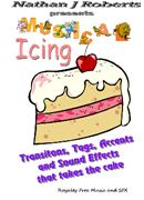 Musical Icing - Royalty Free CD