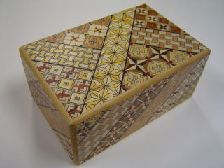 5 Sun Traditional 7 Steps Koyosegi Japanese Puzzle Box