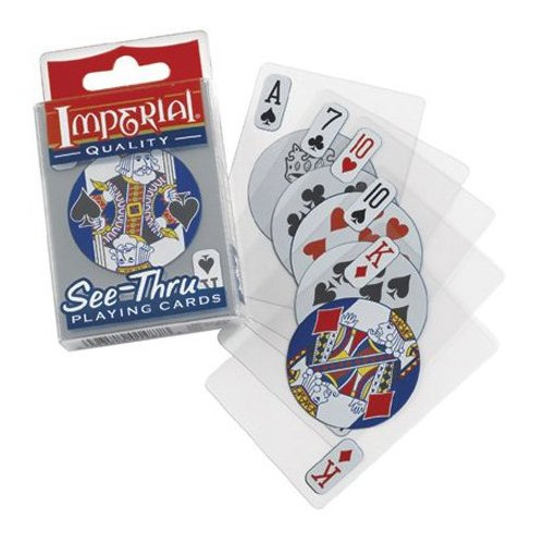 See-Thru Playing Cards -- Imperial