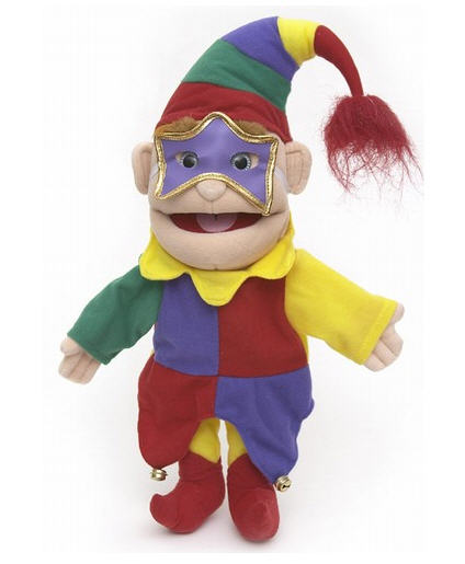Jester Hand Puppet - Multicolor