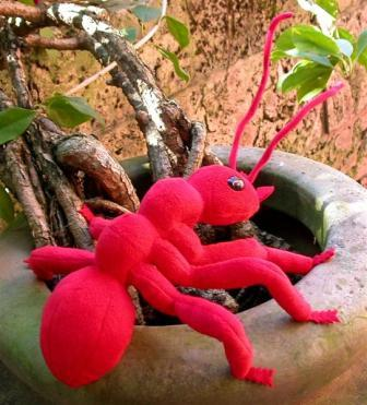 Ant (Red) Hand Puppet