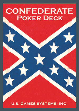 Confederate Poker Deck - Red Back