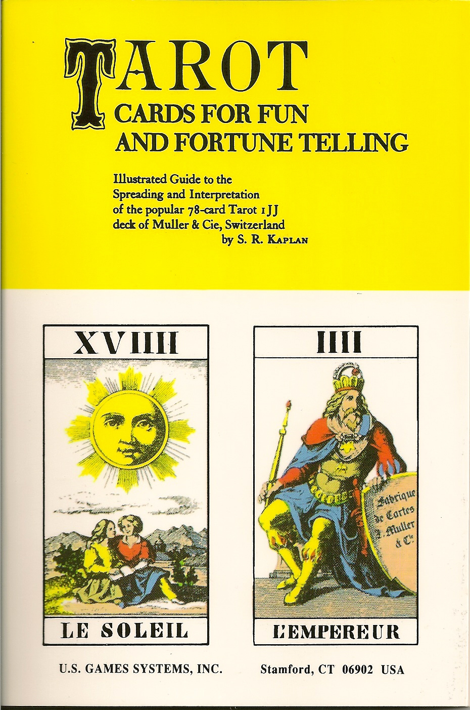 Tarot Cards for Fun and Fortune Telling Book