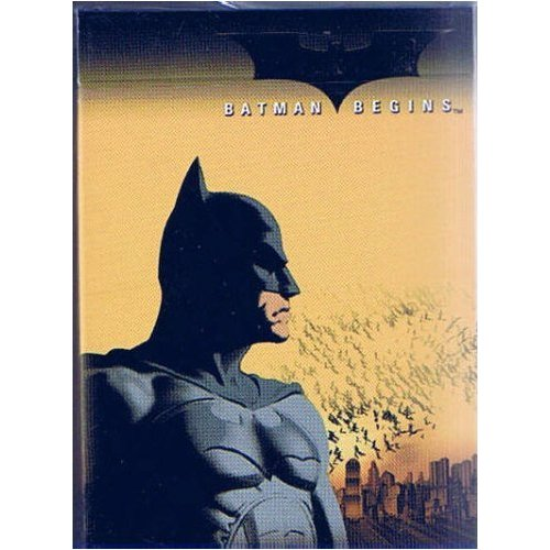 Batman Begins Playing Cards