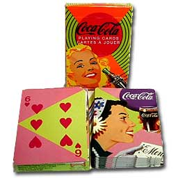 Coca-Cola Playing Cards Vintage Ladies (2 Decks)