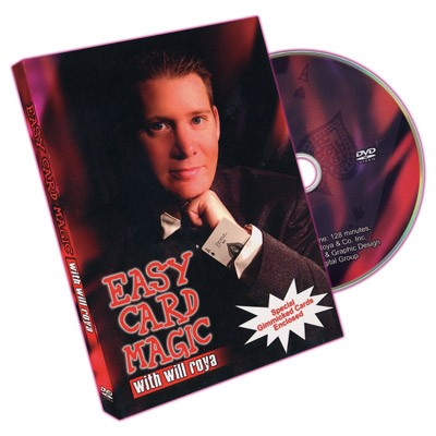 Easy Card Magic -- DVD by Will Roya
